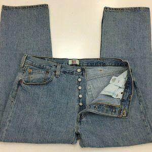 Levi's 501 Button Fly Jeans Men's Size 38 x 30